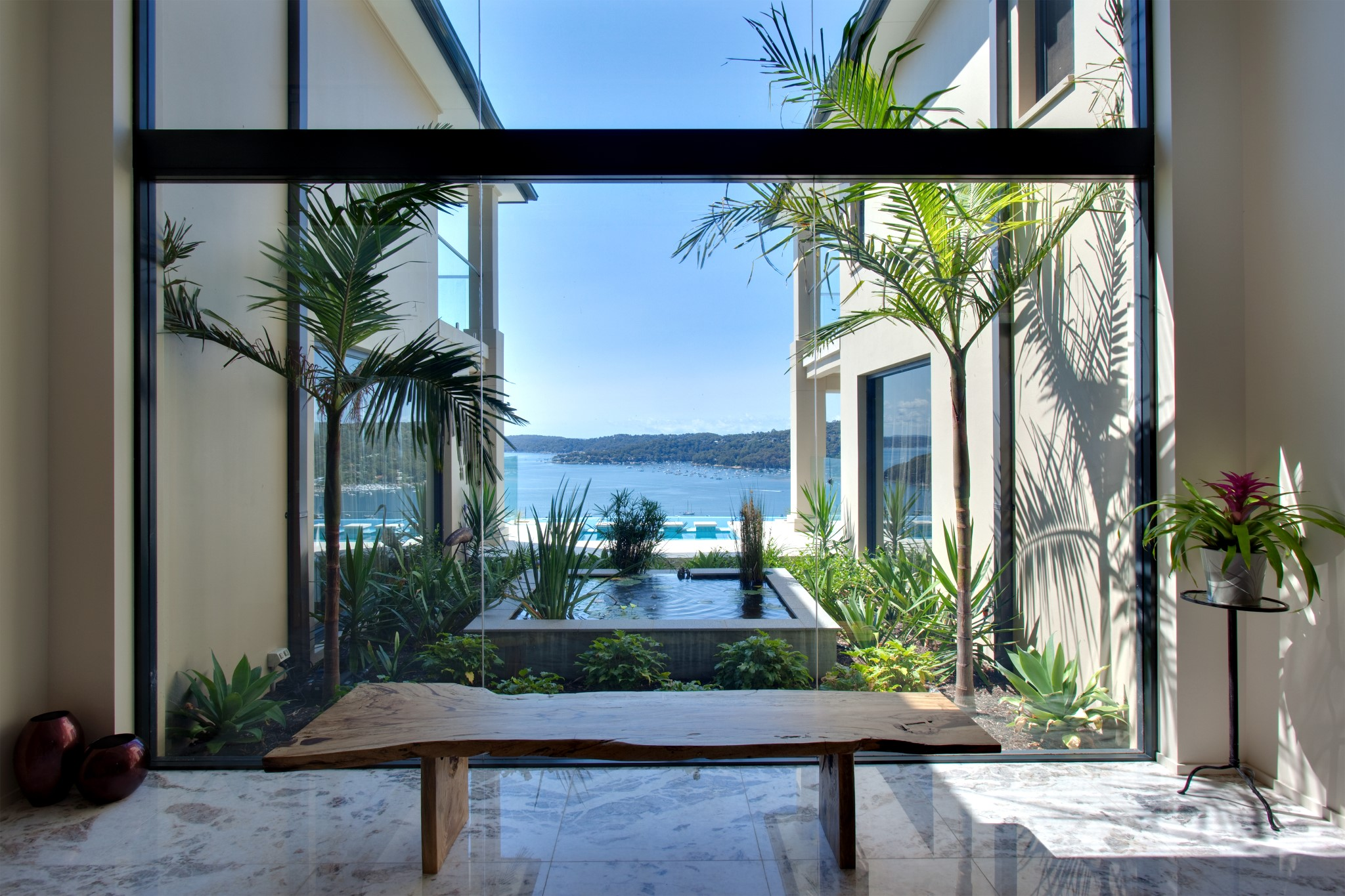 Plunge Pool as a décor of the luxury house