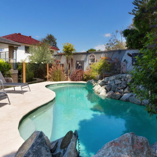 Custom made swimming pool in North Curl Curl